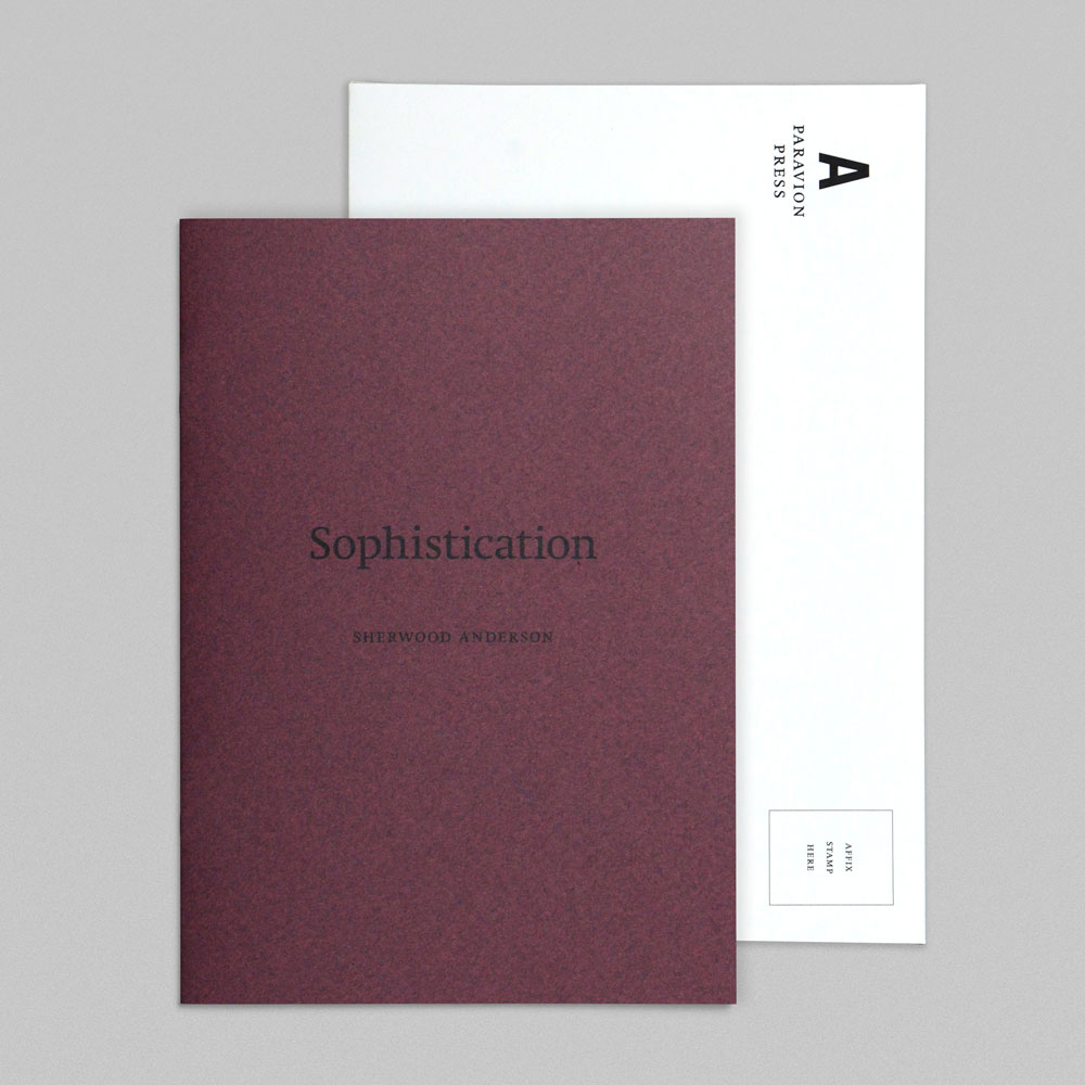 "sophistication by sherwood anderson essay Sophistication (sherwood anderson 1919) sherwood anderson wrote ""sophistication"" as part of his the purpose of this essay is to show how anderson's."