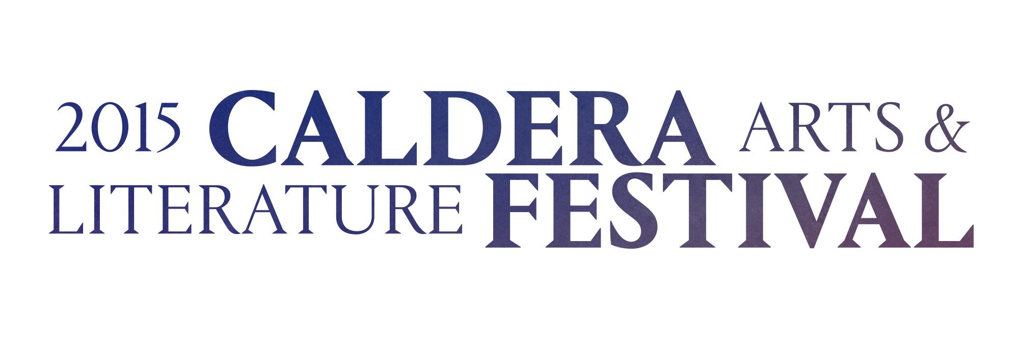 2015 Caldera Arts & Literature Festival